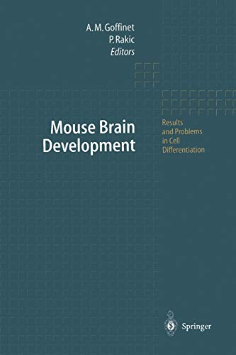 9783642536847: Mouse Brain Development (Results and Problems in Cell Differentiation)