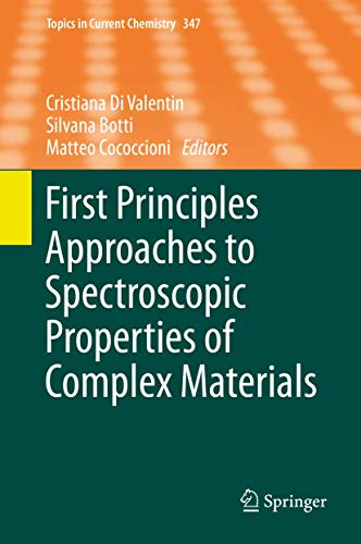 First Principles Approaches to Spectroscopic Properties of Complex Materials: Cristiana DiValentin
