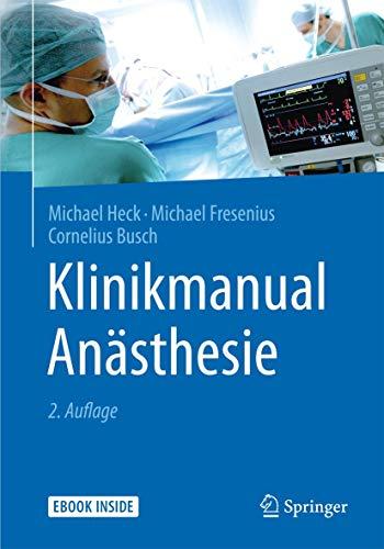 9783642554391: Klinikmanual Anästhesie