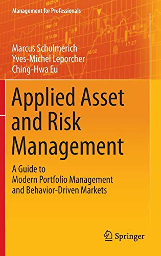 Applied Asset and Risk Management: Marcus Schulmerich