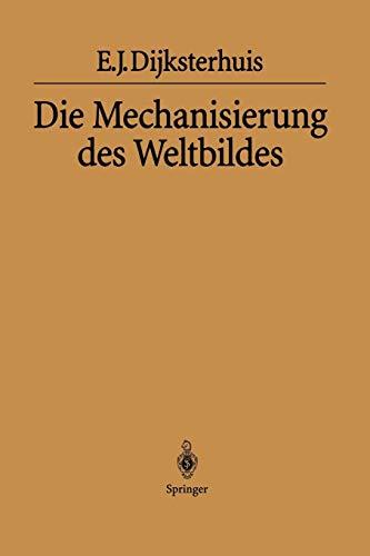 9783642620386: Die Mechanisierung des Weltbildes (German Edition)