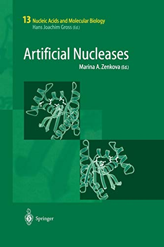 9783642621390: Artificial Nucleases (Nucleic Acids and Molecular Biology) (Volume 13)