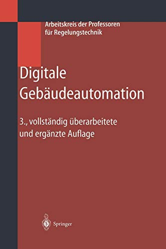 9783642621765: Digitale Gebäudeautomation (German Edition)