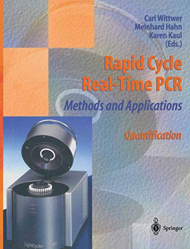 Rapid Cycle Real-Time PCR ― Methods and Applications: Quantification: Springer