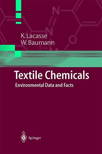 9783642623462: Textile Chemicals: Environmental Data and Facts