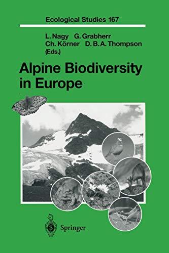 9783642623875: Alpine Biodiversity in Europe (Ecological Studies)