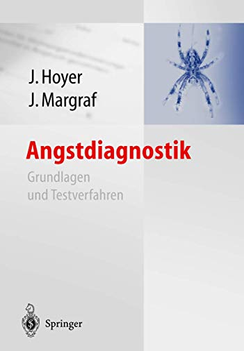 9783642623899: Angstdiagnostik: Grundlagen und Testverfahren
