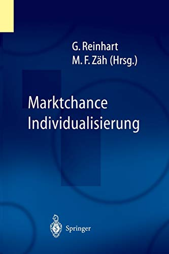9783642624568: Marktchance Individualisierung (German Edition)