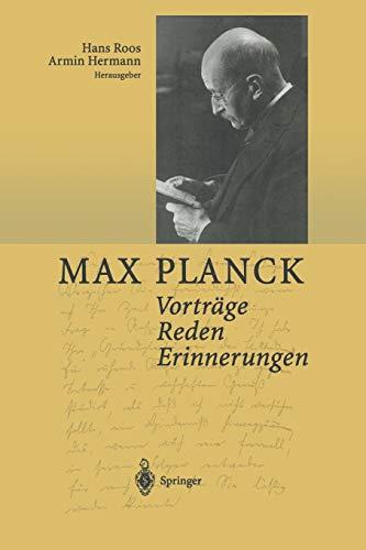 9783642625206: Vorträge Reden Erinnerungen (German Edition)