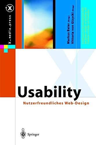 9783642626227: Usability: Nutzerfreundliches Web-Design (X.media.press)