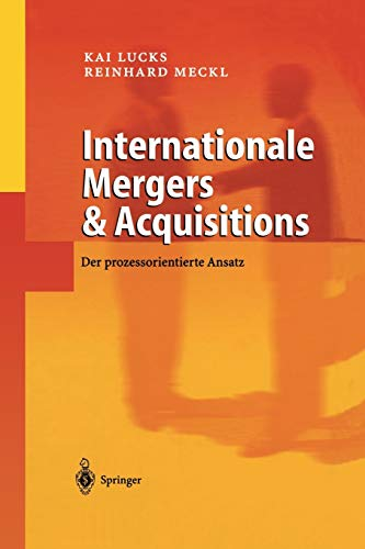 9783642627392: Internationale Mergers & Acquisitions: Der prozessorientierte Ansatz