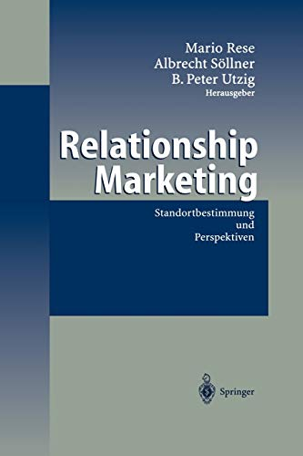 9783642628887: Relationship Marketing: Standortbestimmung und Perspektiven
