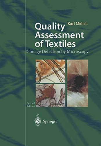 9783642628931: Quality Assessment of Textiles: Damage Detection by Microscopy