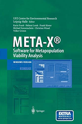 9783642629068: META-X-Software for Metapopulation Viability Analysis