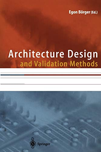 9783642629761: Architecture Design and Validation Methods