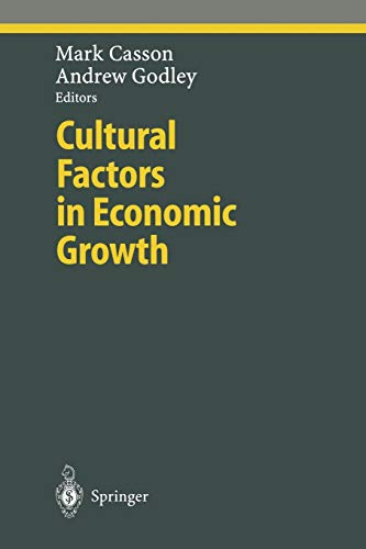 9783642630446: Cultural Factors in Economic Growth (Ethical Economy)