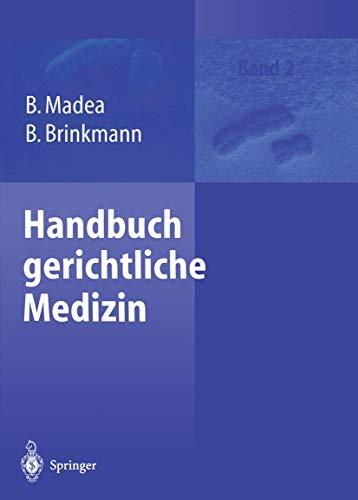 9783642630552: Handbuch gerichtliche Medizin: Band 2 (German Edition)