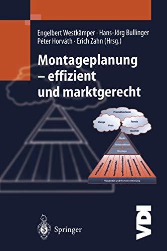 9783642630729: Montageplanung-effizient und marktgerecht (VDI-Buch)