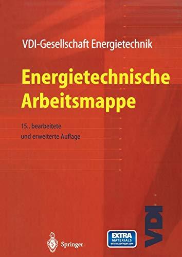 9783642630804: Energietechnische Arbeitsmappe (VDI-Buch) (German Edition)