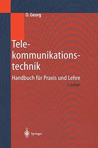 9783642631054: Telekommunikationstechnik: Handbuch für Praxis und Lehre