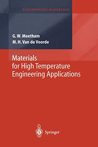 9783642631092: Materials for High Temperature Engineering Applications (Engineering Materials)