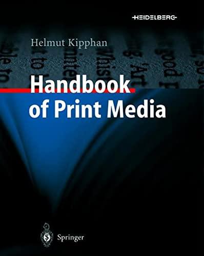9783642631429: Handbook of Print Media: Technologies and Production Methods