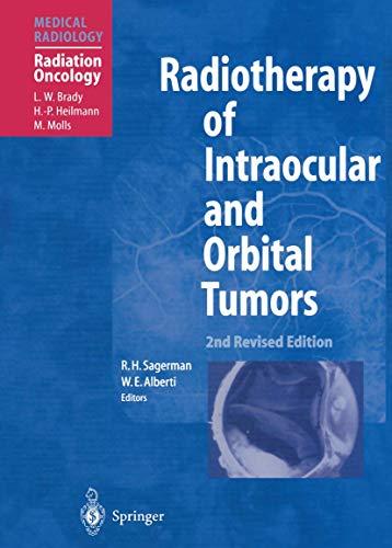 9783642631474: Radiotherapy of Intraocular and Orbital Tumors (Medical Radiology)