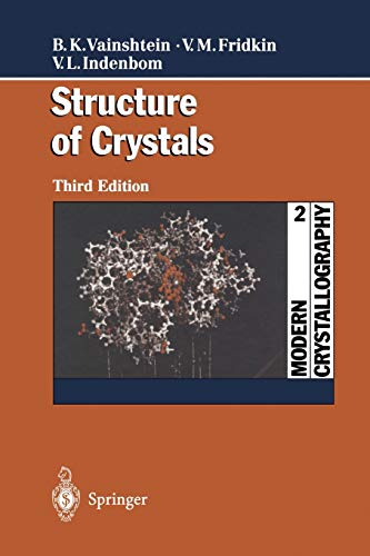 9783642631702: Modern Crystallography 2: Structure of Crystals