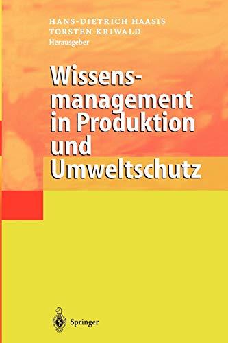 9783642631719: Wissensmanagement in Produktion und Umweltschutz