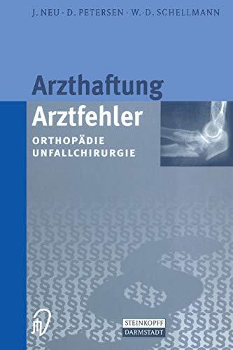 9783642633171: Arzthaftung/Arztfehler: Orthopädie Unfallchirurgie