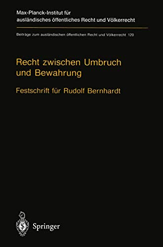 Recht zwischen Umbruch und Bewahrung: Ulrich Beyerlin