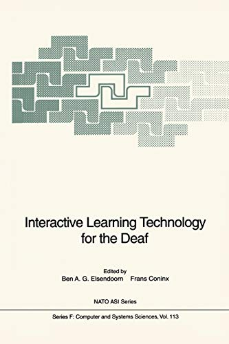 9783642634406: Interactive Learning Technology for the Deaf (Nato ASI Subseries F:)