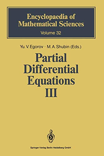9783642634901: Partial Differential Equations III: The Cauchy Problem. Qualitative Theory of Partial Differential Equations (Encyclopaedia of Mathematical Sciences)