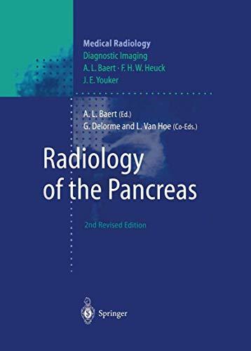 9783642635649: Radiology of the Pancreas (Medical Radiology)