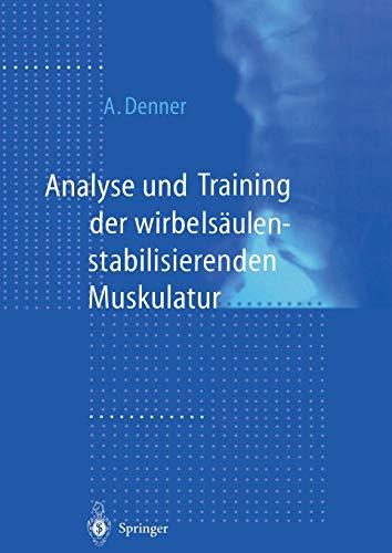 9783642637292: Analyse und Training der wirbelsäulenstabilisierenden Muskulatur (German Edition)