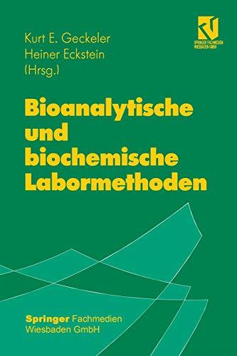 9783642637452: Bioanalytische und biochemische Labormethoden