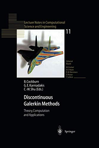 9783642640988: Discontinuous Galerkin Methods: Theory, Computation and Applications (Lecture Notes in Computational Science and Engineering)