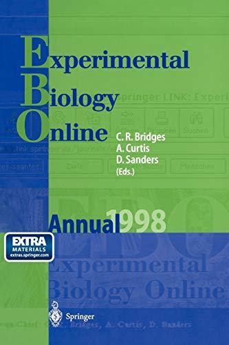 9783642642487: EBO: Experimental Biology Online Annual 1998