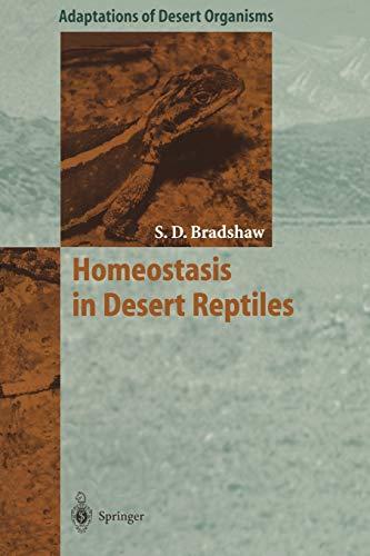 9783642643682: Homeostasis in Desert Reptiles (Adaptations of Desert Organisms)