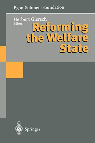 9783642644313: Reforming the Welfare State
