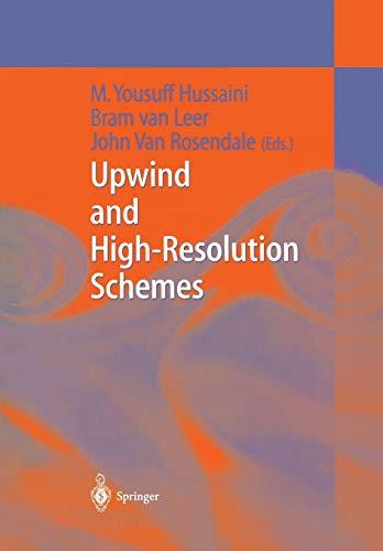 9783642644528: Upwind and High-Resolution Schemes
