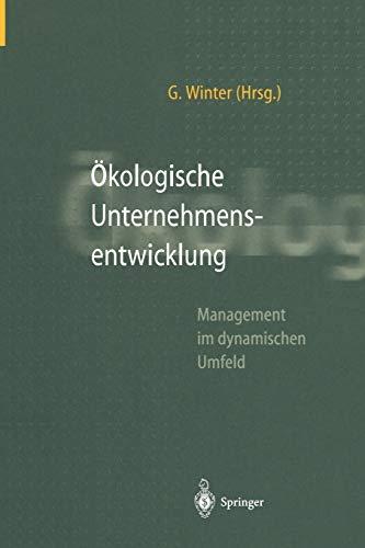 Okologische Unternehmensentwicklung
