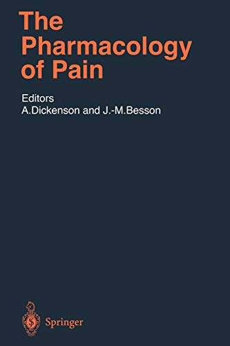 9783642645501: The Pharmacology of Pain (Handbook of Experimental Pharmacology)