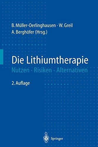 Die Lithiumtherapie: Nutzen, Risiken, Alternativen