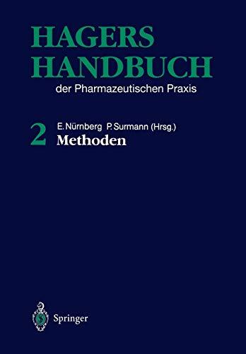 9783642647611: Hagers Handbuch der pharmazeutischen Praxis: Band 2: Methoden