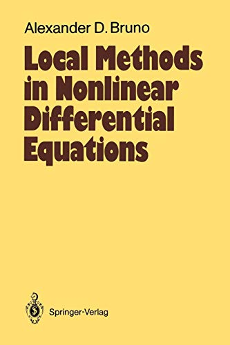 9783642647888: Local Methods in Nonlinear Differential Equations: Part I The Local Method of Nonlinear Analysis of Differential Equations Part II The Sets of ... (Springer Series in Soviet Mathematics)