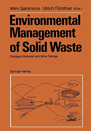 9783642648090: Environmental Management of Solid Waste: Dredged Material and Mine Tailings