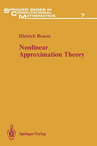 9783642648830: Nonlinear Approximation Theory