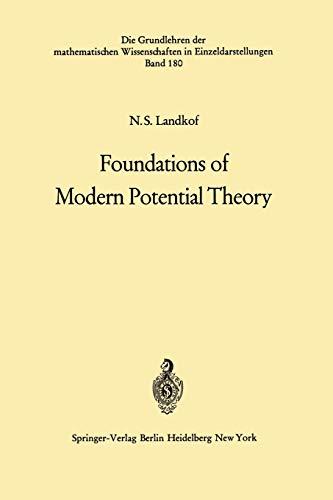 Foundations of Modern Potential Theory (Grundlehren der mathematischen Wissenschaften): Naum S. ...