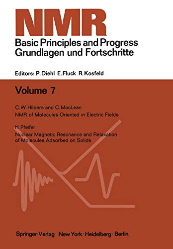 9783642653148: NMR Basic Principles and Progress / NMR Grundlagen und Fortschritte
